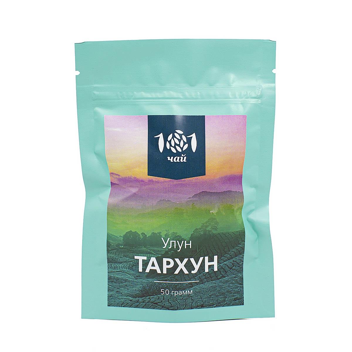 Чай листовой 101 чай ароматизированный улун Тархун, 50 г ароматизированный улун тархун 50 г