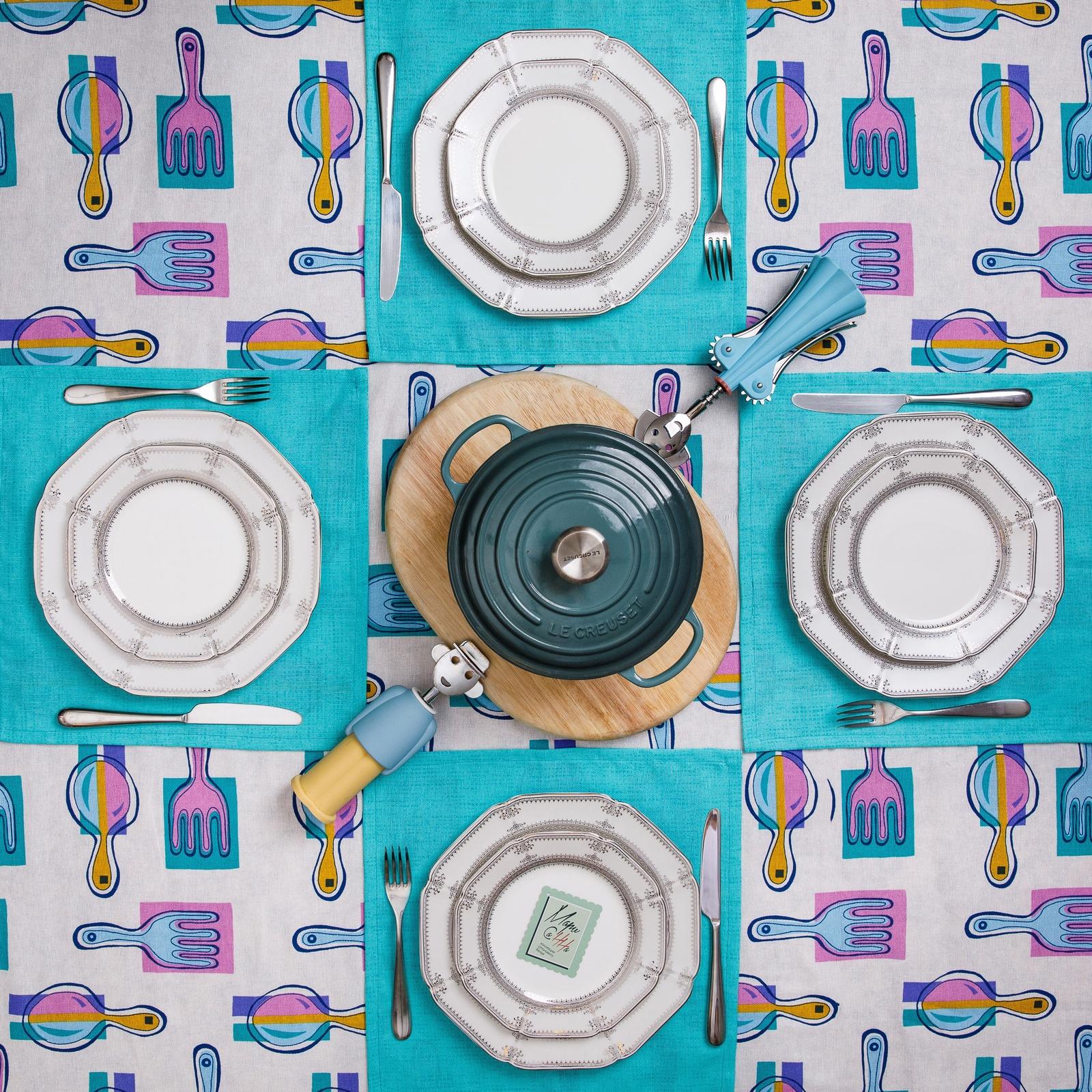 Комплект для кухни Мари Санна 2317-180, Рогожка
