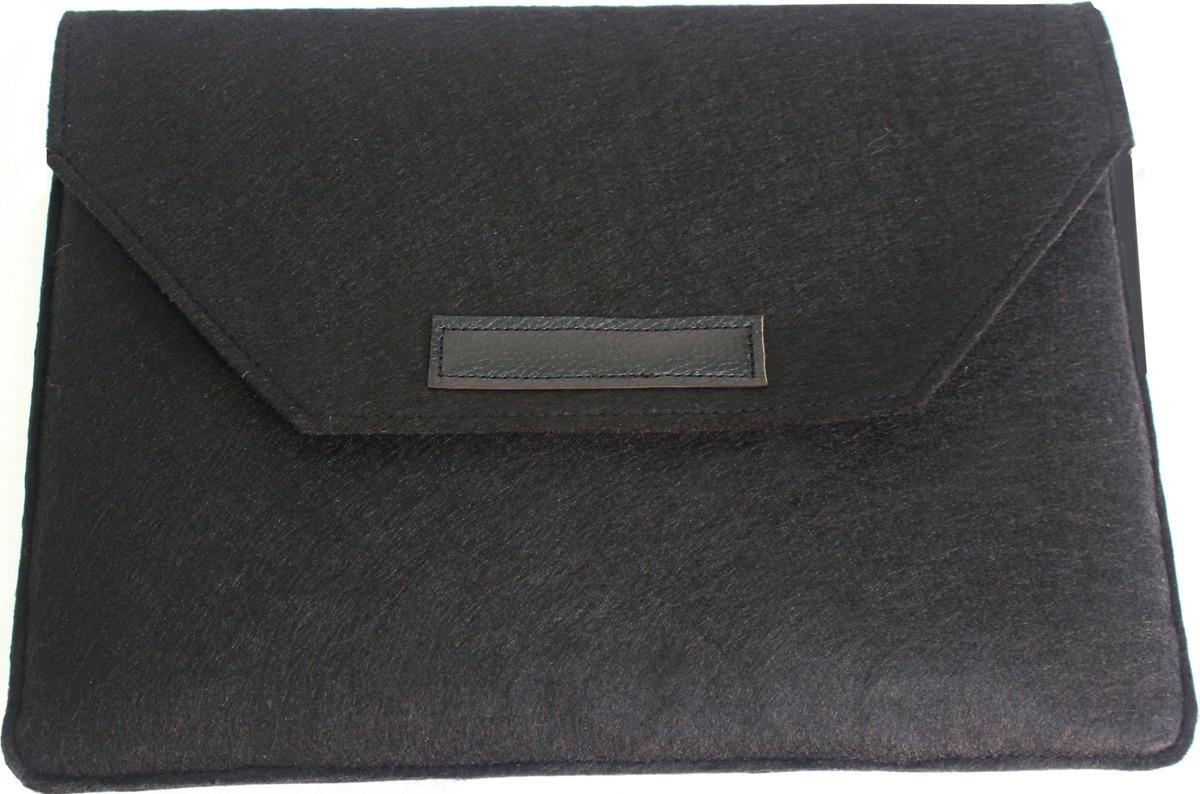 Папка для ноутбука Vivacase Felt MacBook 12-13.3, черный