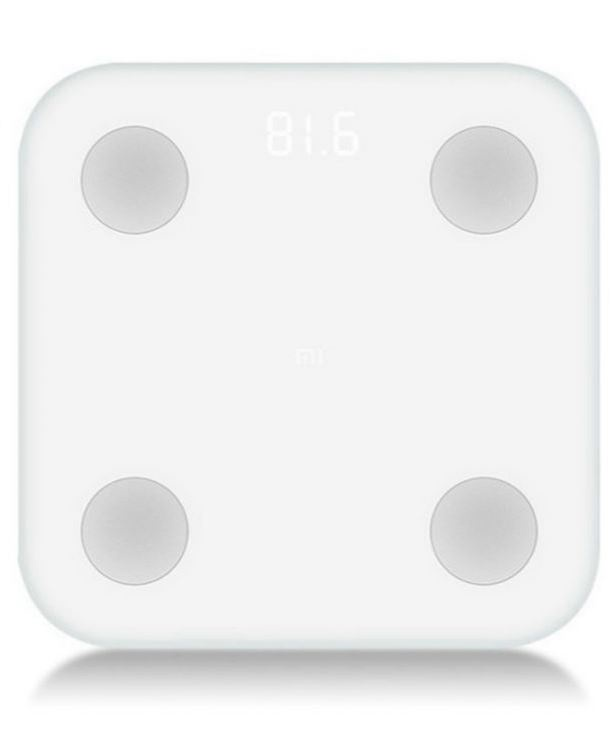 Напольные весы Xiaomi Mi Body Composition Scale 2, белый умные весы mgb body fat scale glass edition белый