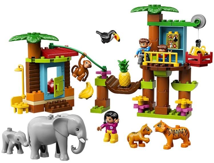 Пластиковый конструктор LEGO 10906
