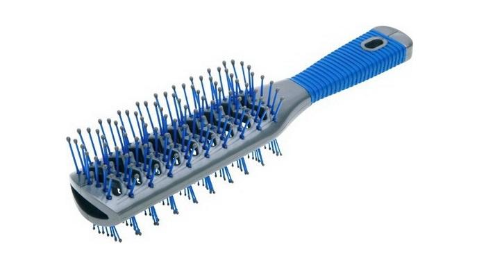 Щетка для волос Dewal DW9532B-VB BLUE Dewal