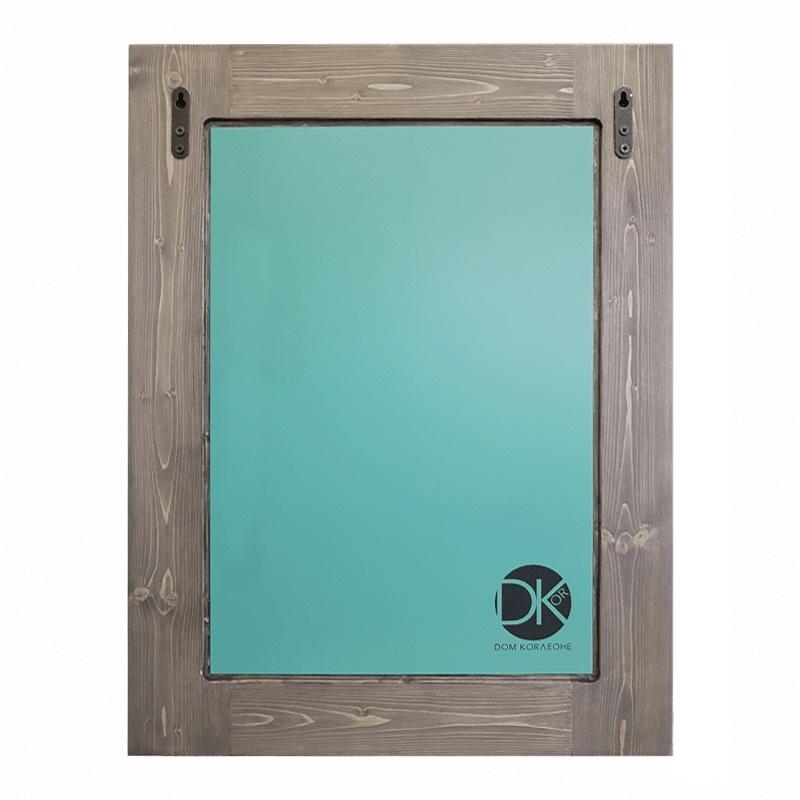 Зеркало интерьерное Дом Корлеоне Зеркало настенное Зеленая долина 50 х 65 см