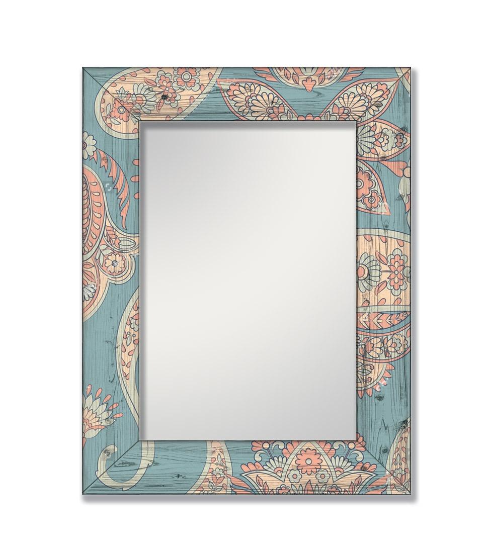 Зеркало интерьерное Дом Корлеоне Зеркало настенное Пейсли 75 х 110 см