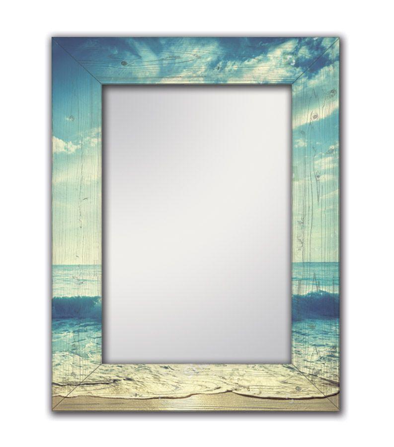Зеркало интерьерное Дом Корлеоне Зеркало настенное Море 75 х 110 см