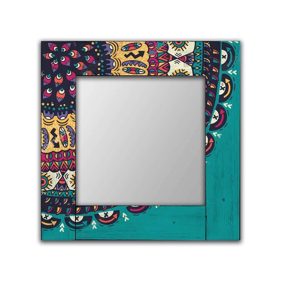 Зеркало интерьерное Дом Корлеоне Зеркало настенное Берне 75 х 110 см