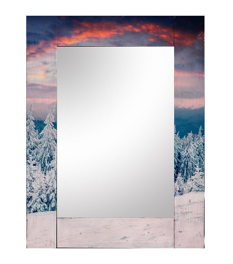 Зеркало интерьерное Дом Корлеоне Зеркало настенное Зима 75 х 110 см