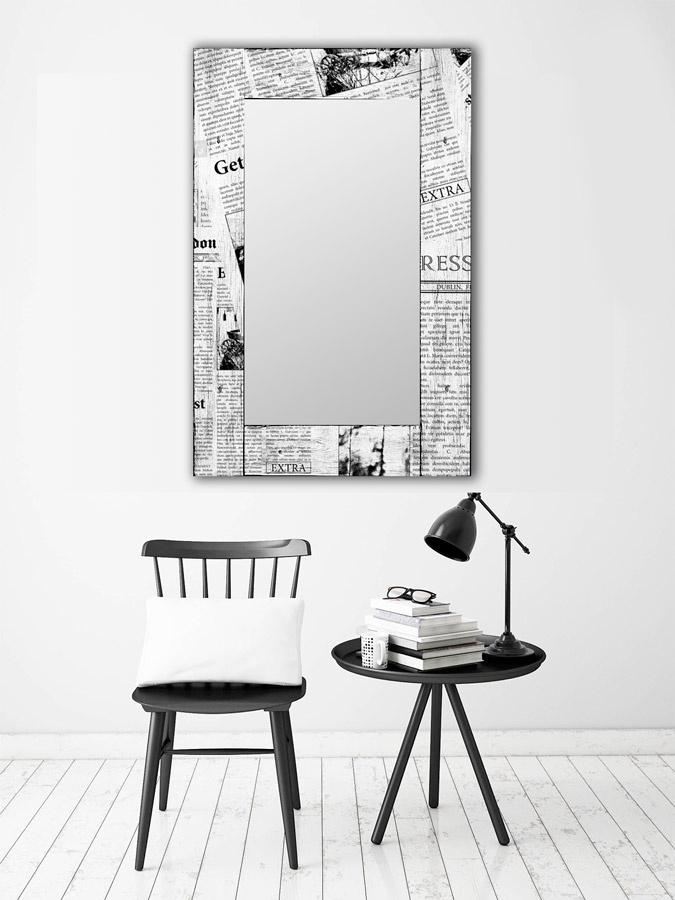 Зеркало интерьерное Дом Корлеоне Зеркало настенное Ньюз Вик 65 х 65 см Дом Корлеоне