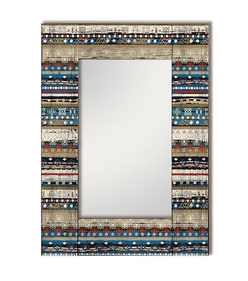 Зеркало интерьерное Дом Корлеоне Зеркало настенное Финистер 80 х 80 см