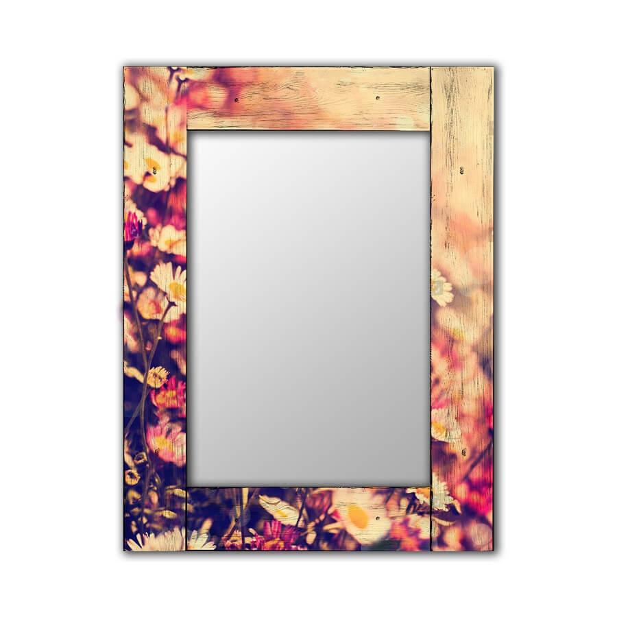 Зеркало интерьерное Дом Корлеоне Зеркало настенное Весна 75 х 110 см