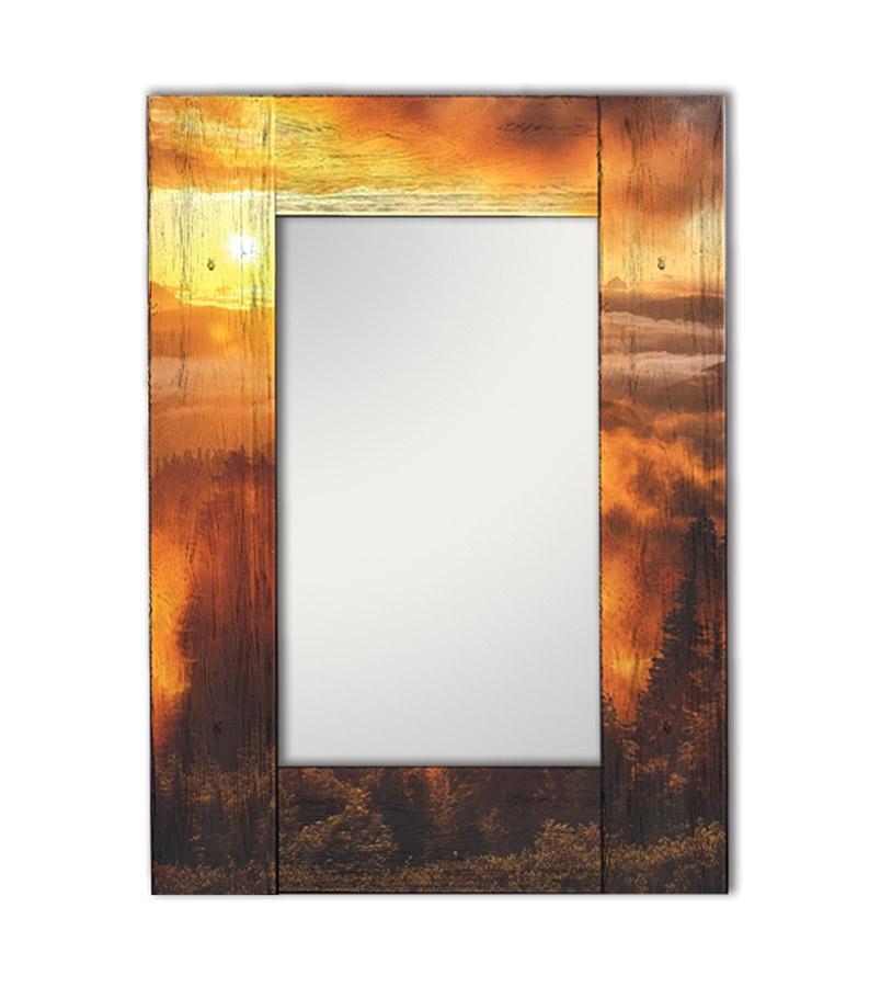 Зеркало интерьерное Дом Корлеоне Зеркало настенное Шервуд 65 х 65 см