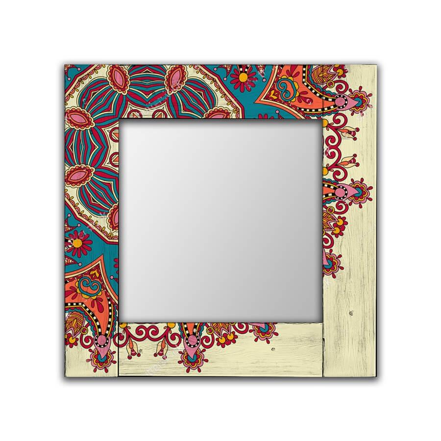 Зеркало интерьерное Дом Корлеоне Зеркало настенное Вернон 80 х 80 см зеркало интерьерное дом корлеоне зеркало настенное мозаика 80 х 80 см