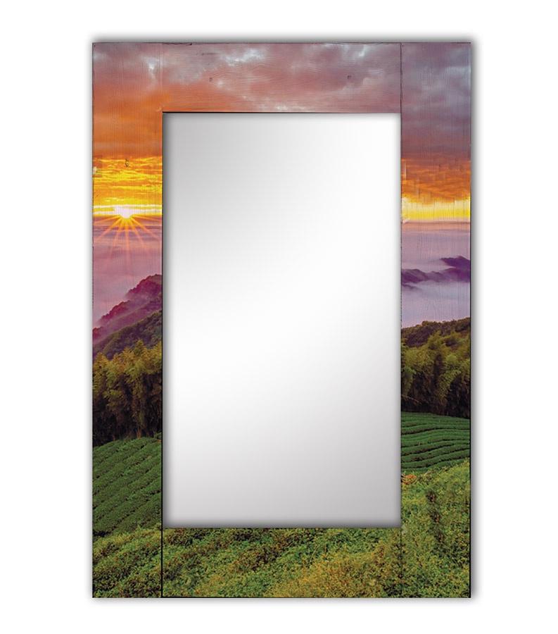 Зеркало интерьерное Дом Корлеоне Зеркало настенное Виноградные просторы 80 х 80 см зеркало интерьерное дом корлеоне зеркало настенное мозаика 80 х 80 см
