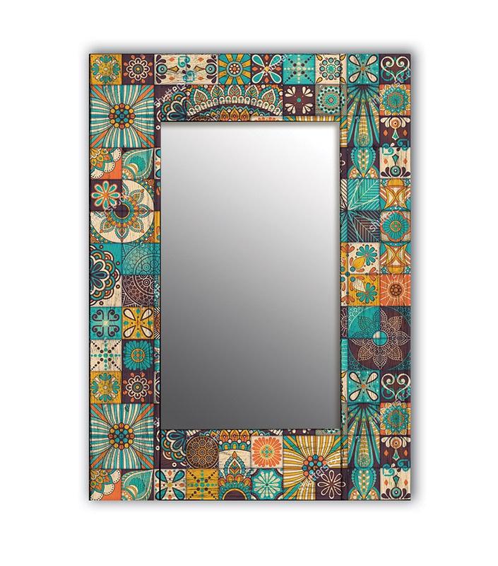 Зеркало интерьерное Дом Корлеоне Зеркало настенное Мозаика 75 х 110 см