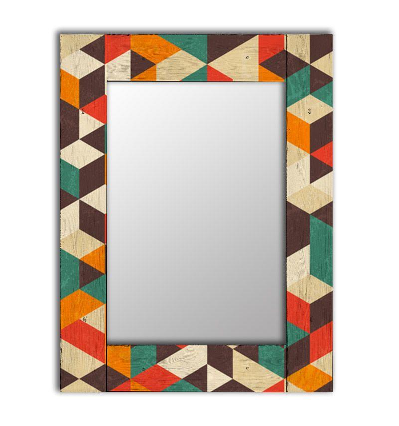 Зеркало интерьерное Дом Корлеоне Зеркало настенное Брандо 80 х 80 см