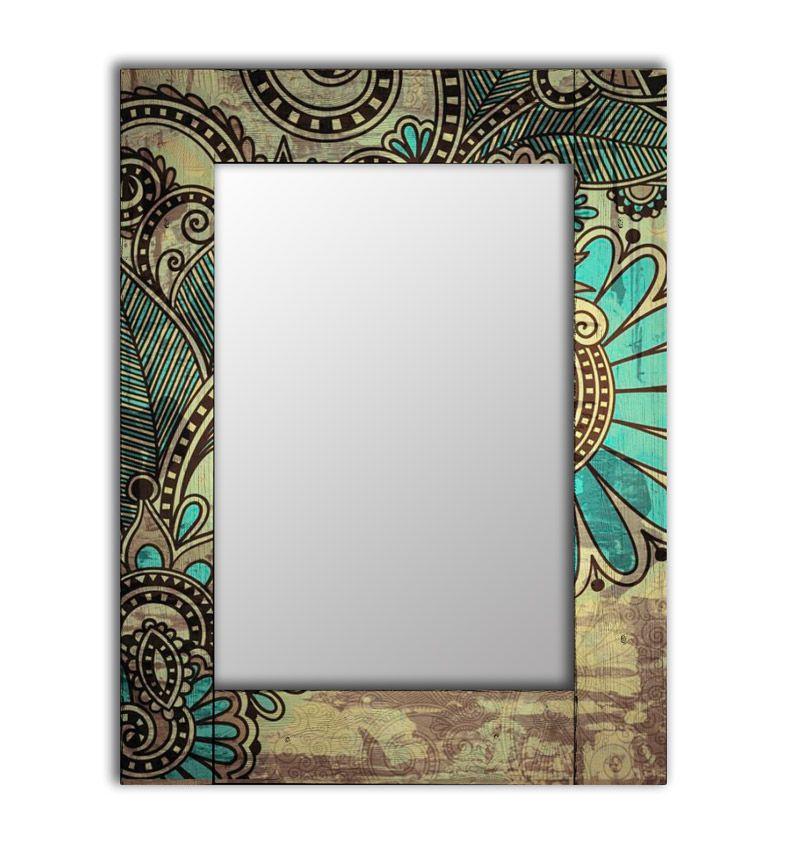 Зеркало интерьерное Дом Корлеоне Зеркало настенное Дейзи 80 х 80 см