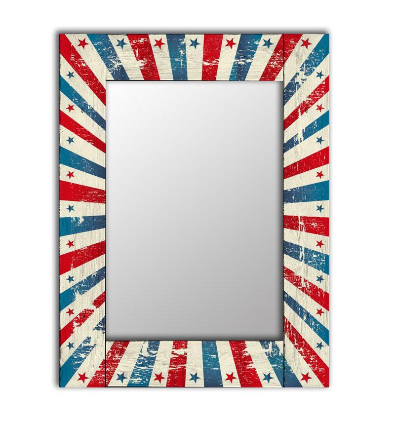 Зеркало интерьерное Дом Корлеоне Зеркало настенное Звезда 80 х 80 см