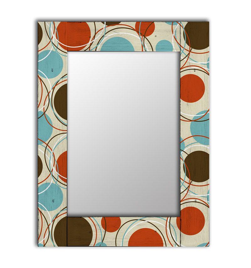 Зеркало интерьерное Дом Корлеоне Зеркало настенное Эмбер 65 х 65 см
