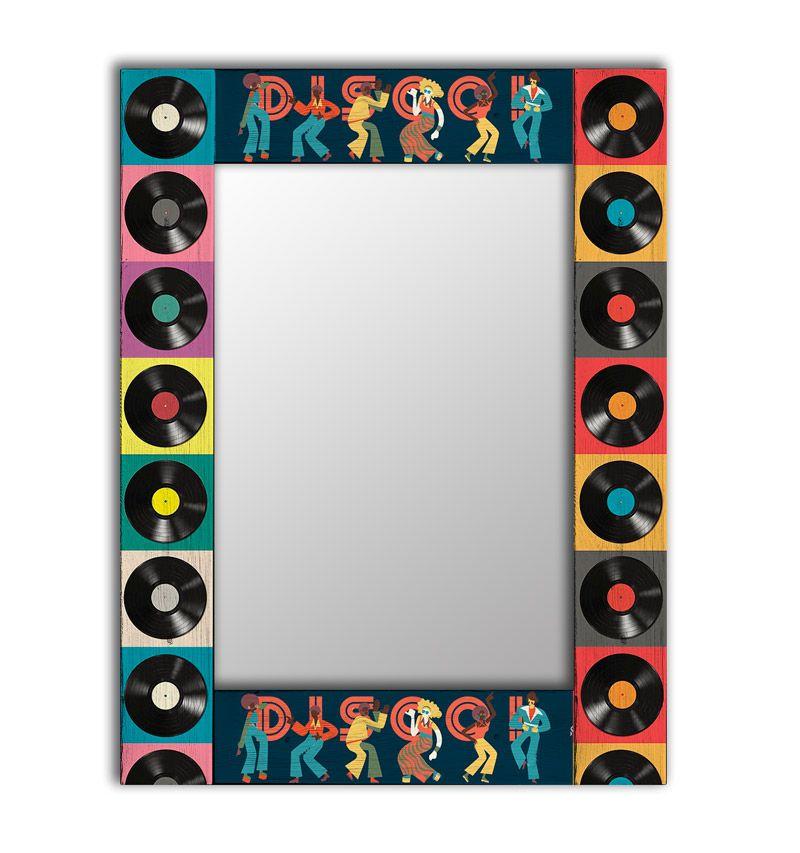 Зеркало интерьерное Дом Корлеоне Зеркало настенное Диско 65 х 65 см