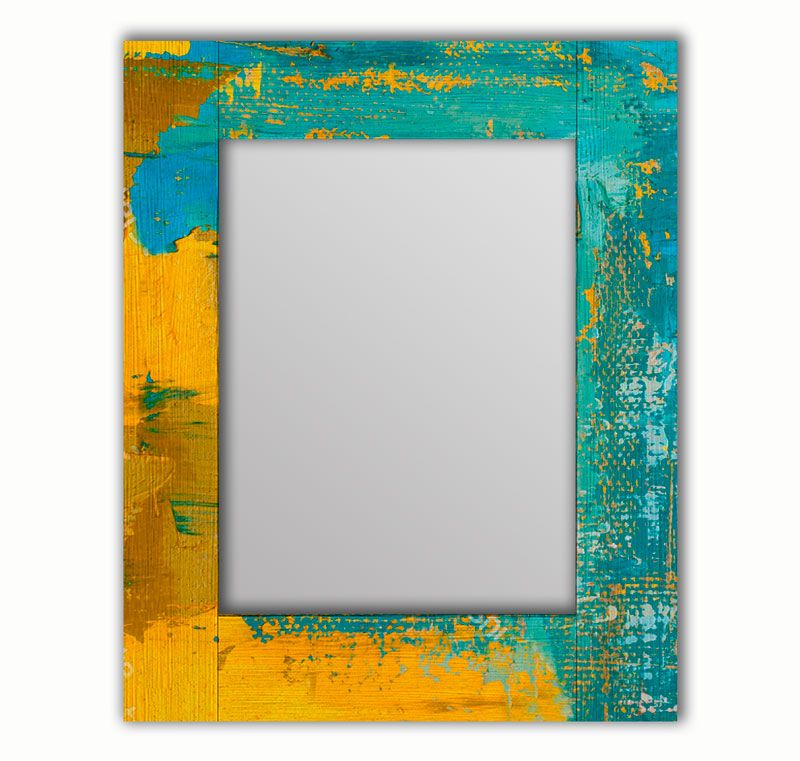 Зеркало интерьерное Дом Корлеоне Зеркало настенное Гранж Блю 50 х 65 см