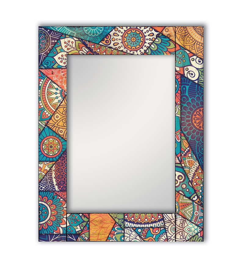 Зеркало интерьерное Дом Корлеоне Зеркало настенное Калейдоскоп 75 х 110 см