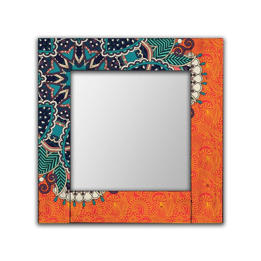 Зеркало интерьерное Дом Корлеоне Зеркало настенное Крозе 80 х 80 см зеркало интерьерное дом корлеоне зеркало настенное мозаика 80 х 80 см