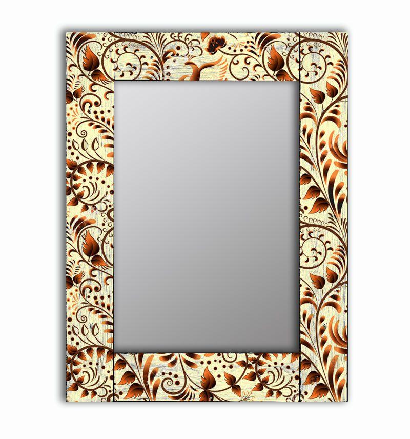 Зеркало интерьерное Дом Корлеоне Зеркало настенное Золотая роспись 65 х 80 см