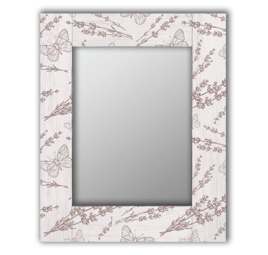 Зеркало интерьерное Дом Корлеоне Зеркало настенное Бабочки 50 х 65 см