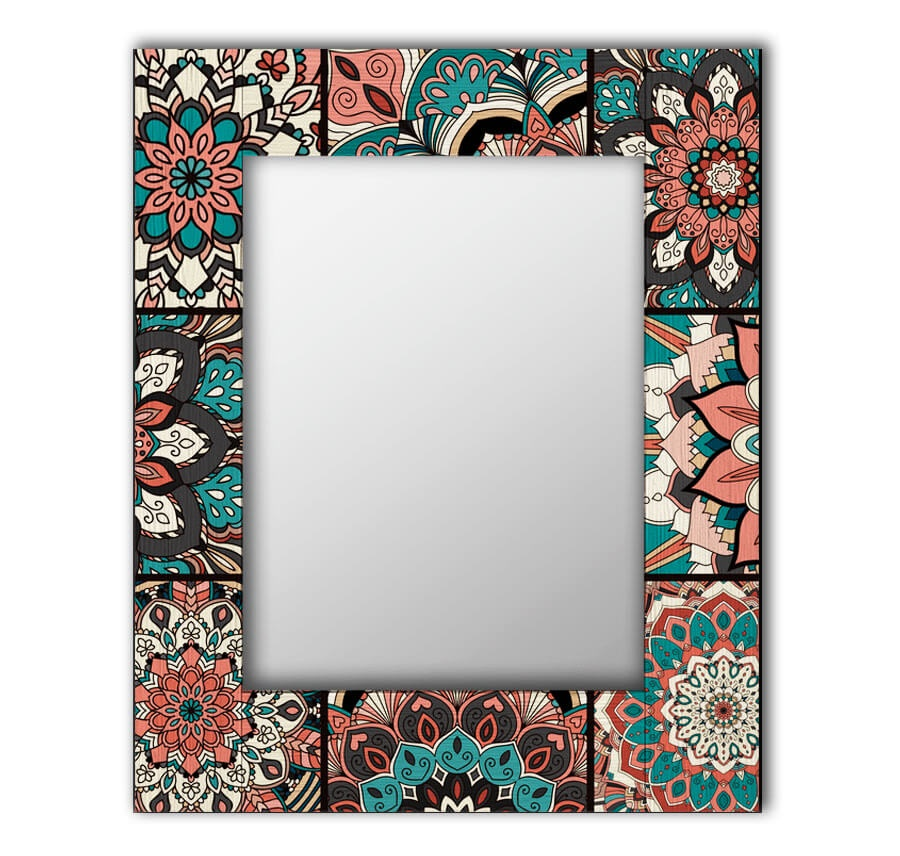 Зеркало интерьерное Дом Корлеоне Зеркало настенное Бохо Шик 65 х 80 см