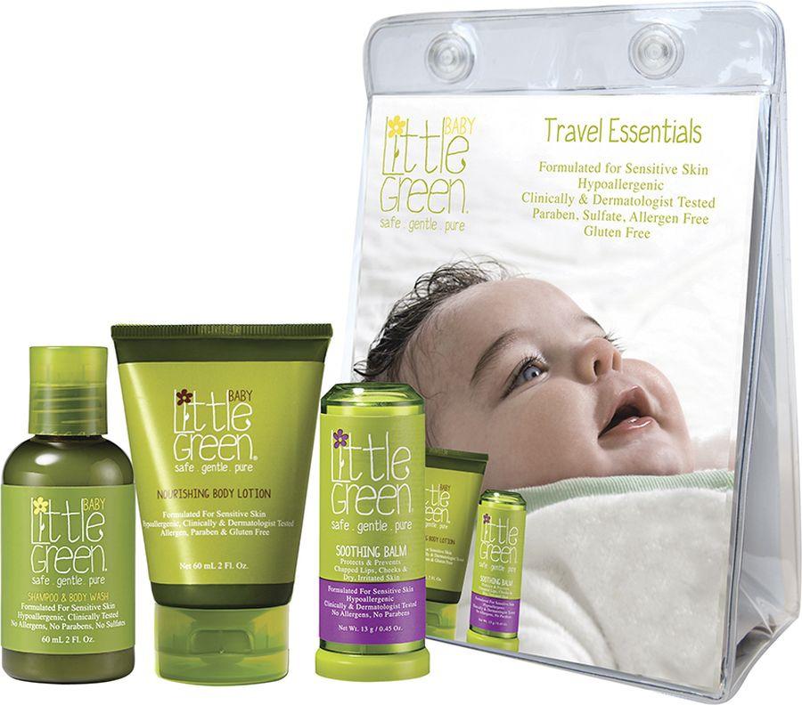 Набор Little Green Baby Первый уход малыша, для детей от 0 до 12 месяцев