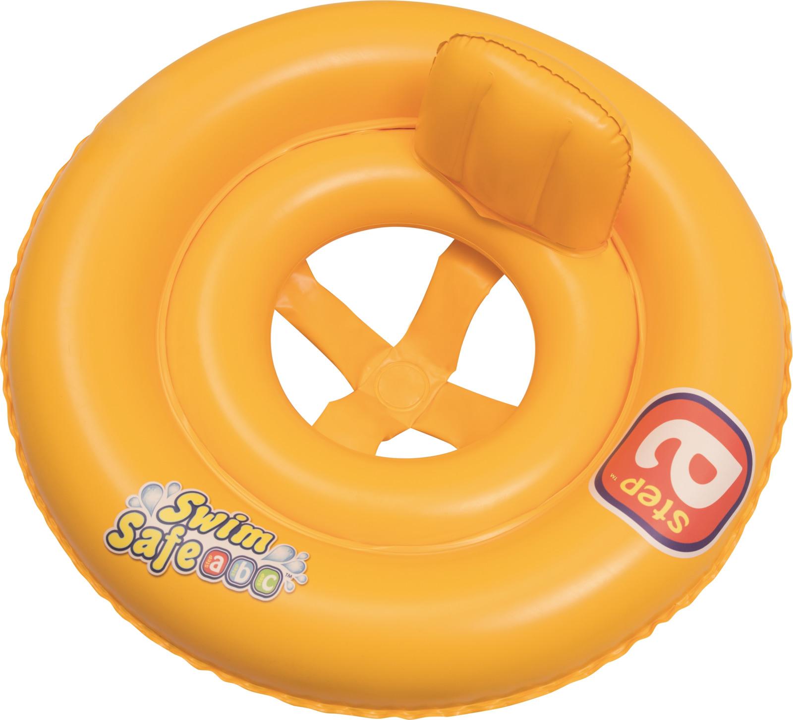"""Bestway Круг для плавания с сиденьем и спинкой """"Swim Safe"""", ступень А. 32027"""