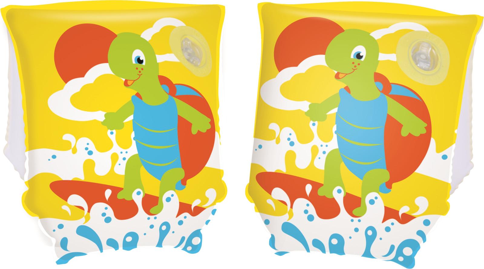 Bestway Нарукавники для плавания Черепашки цвет желтый цены онлайн
