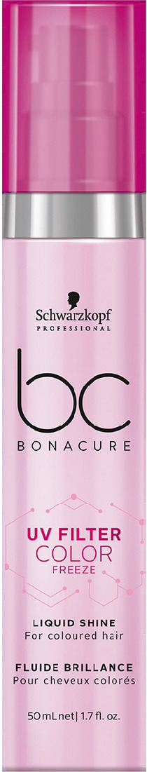 Сыворотка для блеска волос Schwarzkopf Professional Bonacure UV Filter Color Freeze, 50 мл кондиционер для волос schwarzkopf professional bonacure color freeze сияние цвета 500 мл