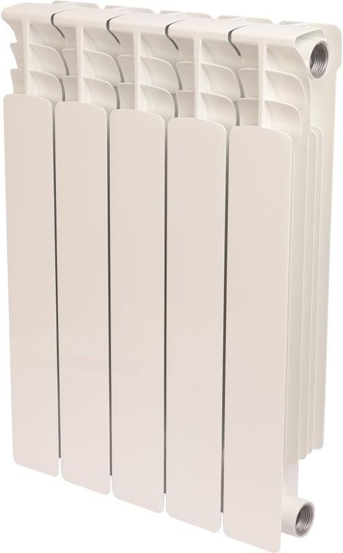 Секционный радиатор Stout Space 500, биметаллический, SRB-0310-050005, белый, 5 секций отсутствует креативное рукоделие вяжем шьем плетем вышиваем создаем украшения одежду аксессуары оригинальные вещи для дома
