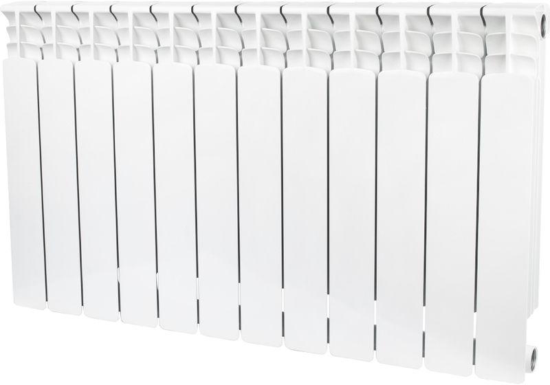 Секционный радиатор Stout Space 500, биметаллический, SRB-0310-050012, белый, 12 секций цена