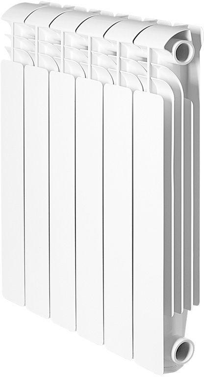 Секционный радиатор Global Iseo 350, алюминиевый, IS035010, белый, 10 секций global iseo 350 12 секций