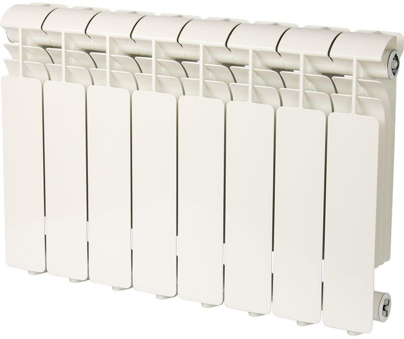 Секционный радиатор Global Iseo 350, алюминиевый, IS035008, белый, 8 секций global iseo 350 12 секций