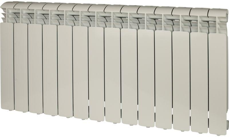 Секционный радиатор Global Iseo 500, алюминиевый, IS05001014, белый, 14 секций global iseo 350 12 секций