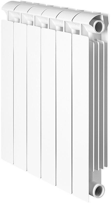 Секционный радиатор Global Style Extra 350, биметаллический, STE03501012, белый, 12 секций недорго, оригинальная цена