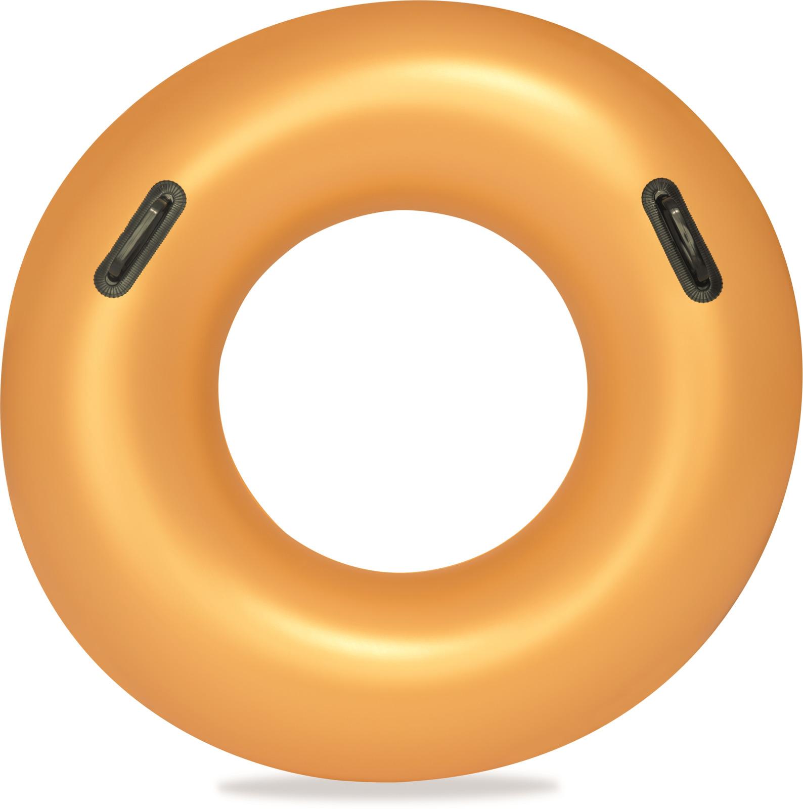 Круг надувной Bestway Золото, диаметр 91 см bestway