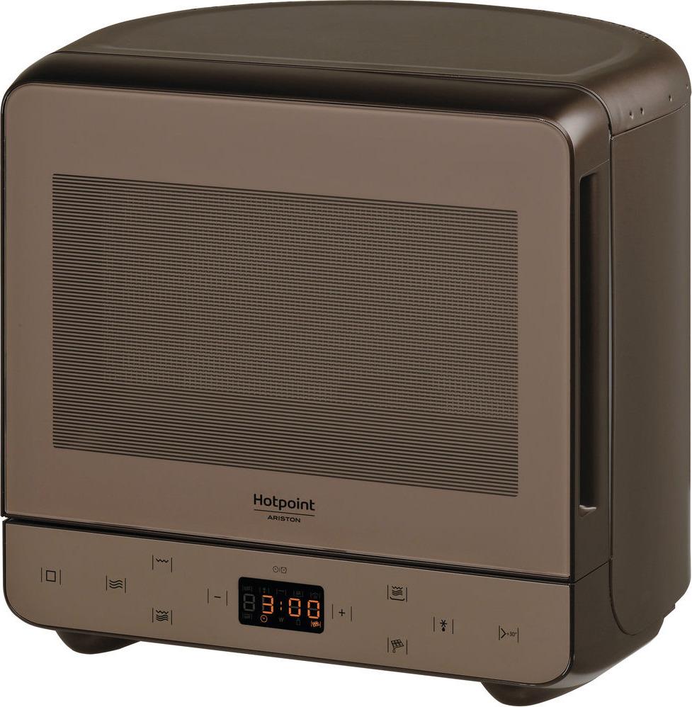 Микроволновая печь Hotpoint-Ariston MWHA 13321 NOIR, шоколадный