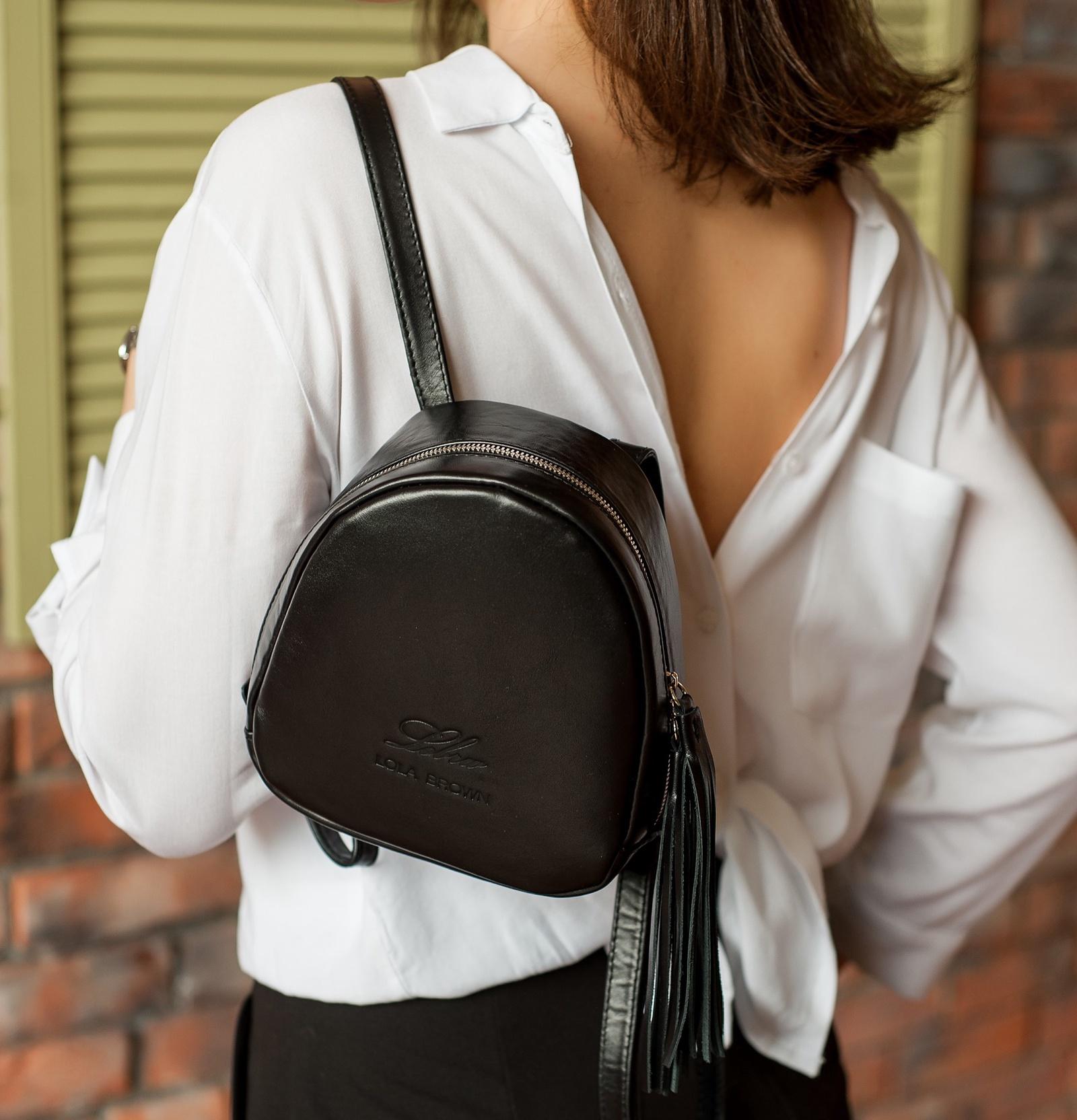 Рюкзак LOLA BROWN LB612, черный