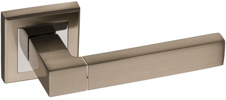 Ручка дверная Kerron, DR7590 SN/CP, матовый никель