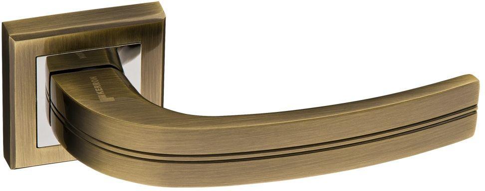 Ручка дверная Kerron, DR7630 AB/CP, античная бронза