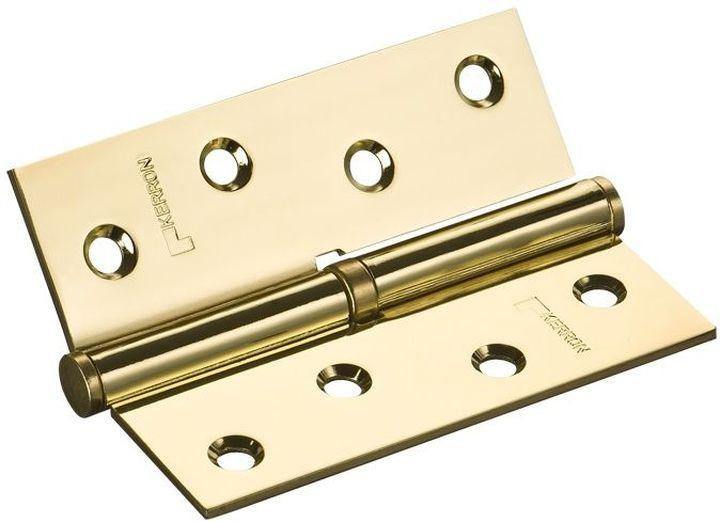 Петля дверная Kerron, съемная правая, DP8010 GP (R), золотой