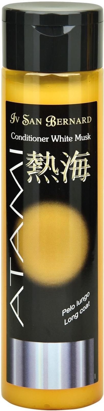 Кондиционер для животных Iv San Bernard ISB Atami Белый мускус, смягчающий, для длинной шерсти, 300 мл