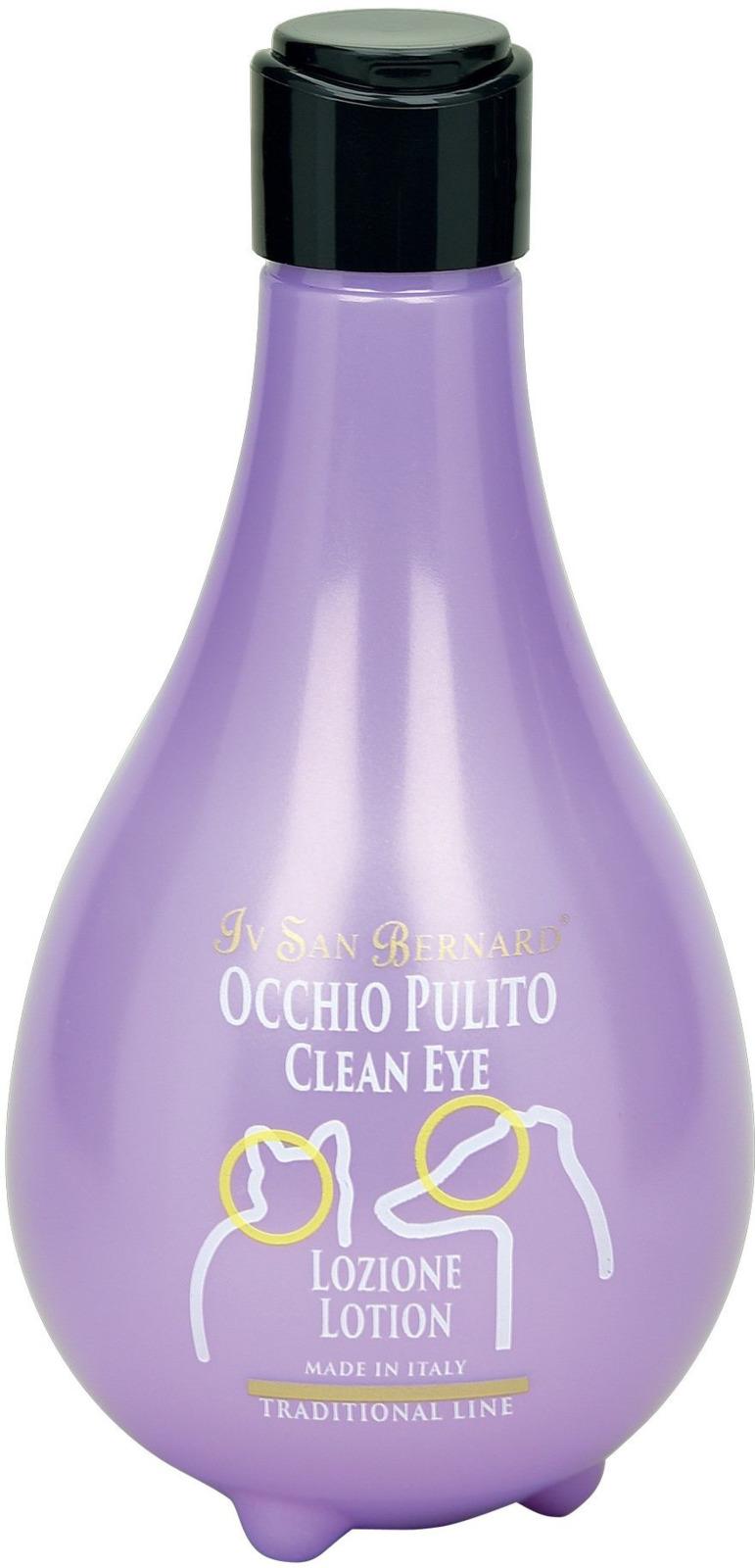 Лосьон для животных Iv San Bernard ISB Traditional Line Clean Eye, для очистки глаз, 250 мл лосьон для глаз veda ромашка 3штх10мл