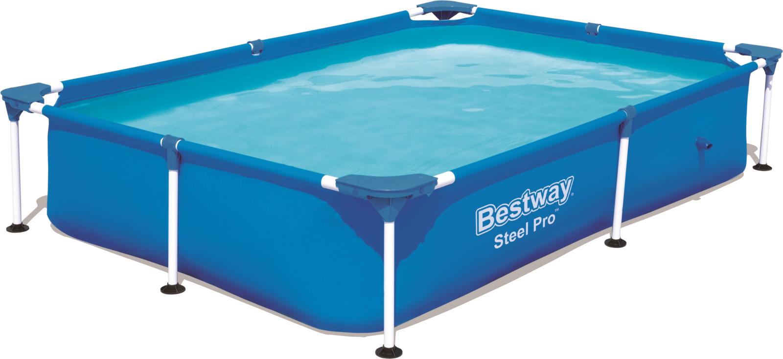 Бассейн каркасный Bestway Steel Pro, 1200 л каркасный бассейн bestway power steel deluxe 427x107 см 56664 13030 л