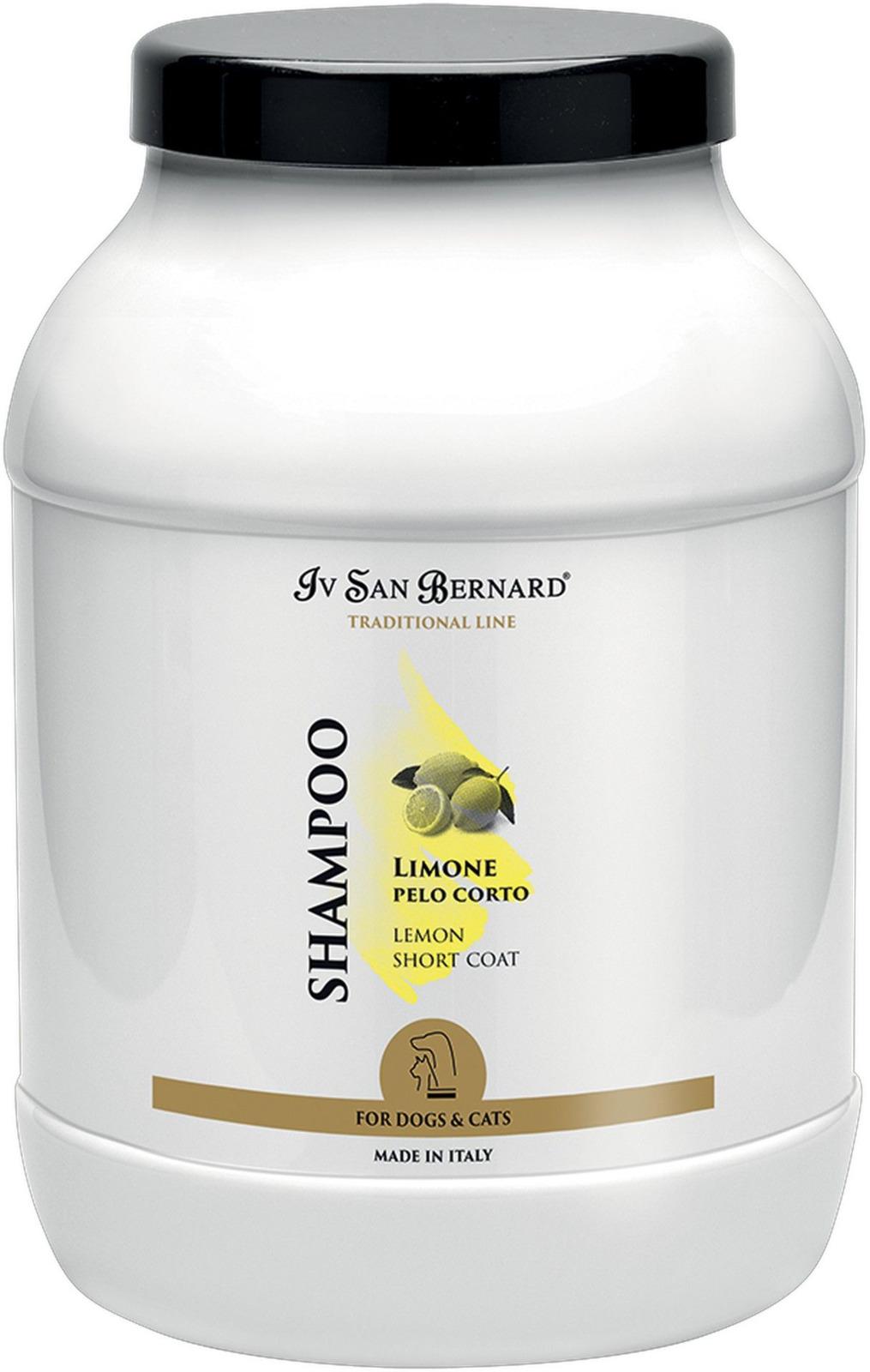 Шампунь для животных Iv San Bernard ISB Traditional Line Lemon, для короткой шерсти, 3 л line шампунь