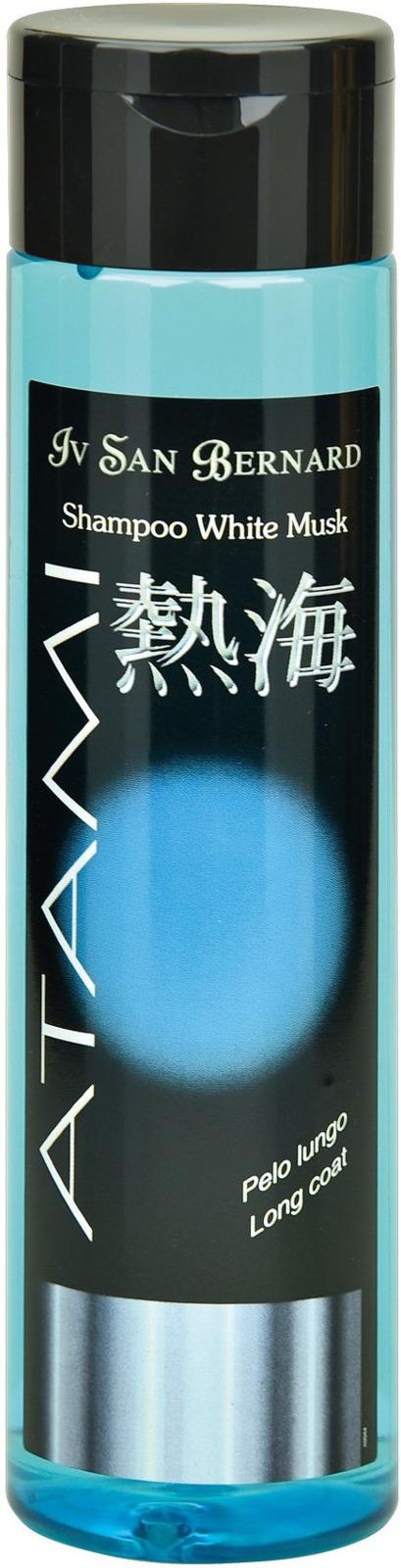 Шампунь-антистатик для животных Iv San Bernard ISB Atami Белый мускус, для длинной шерсти, 300 мл